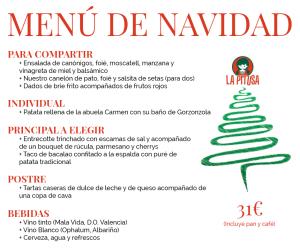 menu navidad restaurante valencia la pitusa
