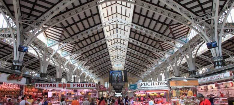 El Mercado Central de Valencia, un rincón de sabores, colores y olores