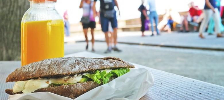 Alternativas a la comida rápida en el trabajo