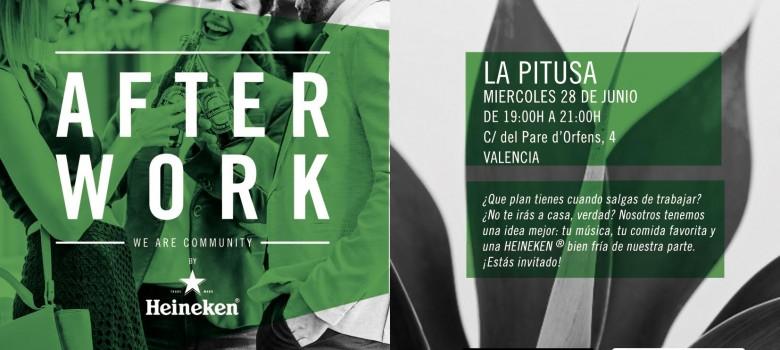 Afterwork de Heineken en La Pitusa